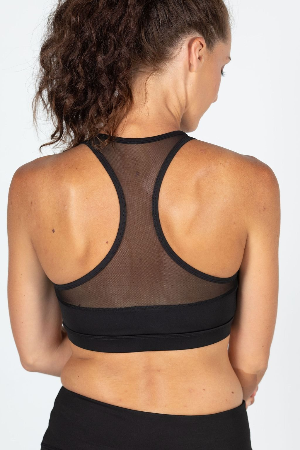 RACERBACK BRA MESH INSERTS - No image set - Ebony Boutique NZ