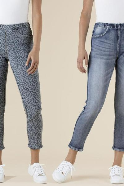 REVERSIBLE JEANS - No image set - Ebony Boutique NZ