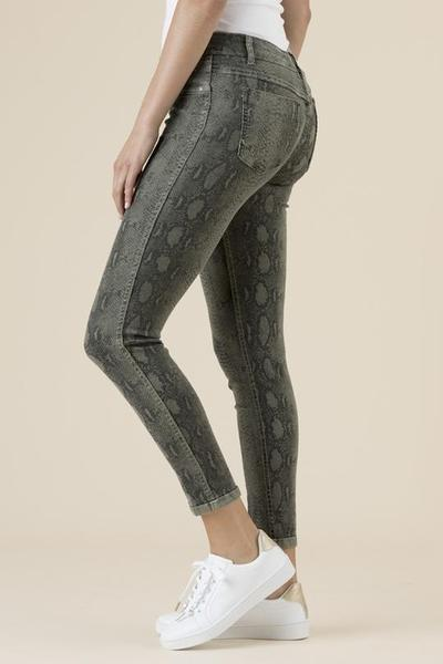 REVERSIBLE JEANS SNAKE SKIN - No image set - Ebony Boutique NZ