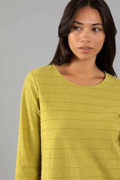 RIBBED JERSEY TEE - RIBBED JERSEY TEE - Ebony Boutique NZ