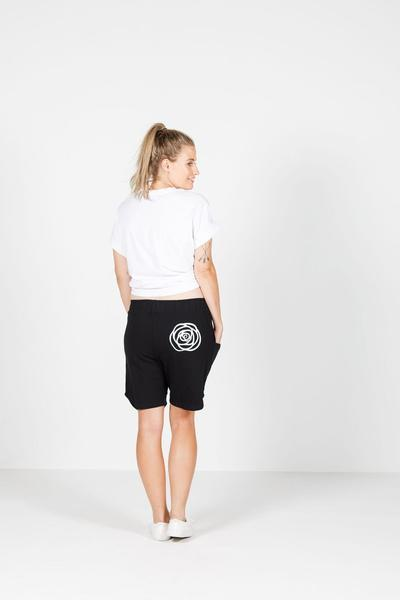 ROSE ROAD UNWINDER SHORTS BLACK - ROSE ROAD UNWINDER SHORTS BLACK - Ebony Boutique NZ
