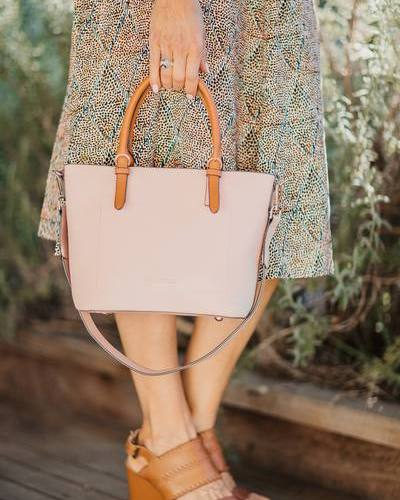 RUMER BAG PALE PINK - RUMER BAG PALE PINK - Ebony Boutique NZ