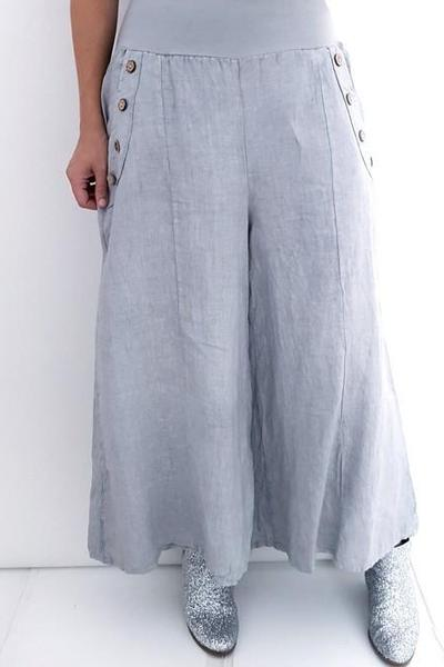 SAILOR PANT SILVER - SAILOR PANT SILVER - Ebony Boutique NZ