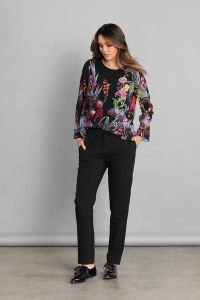 SECRET GARDEN BLOUSE - SECRET GARDEN BLOUSE - Ebony Boutique NZ