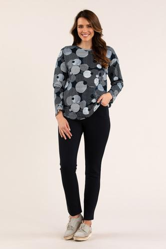 SHADOW SPOT TEE - No image set - Ebony Boutique NZ