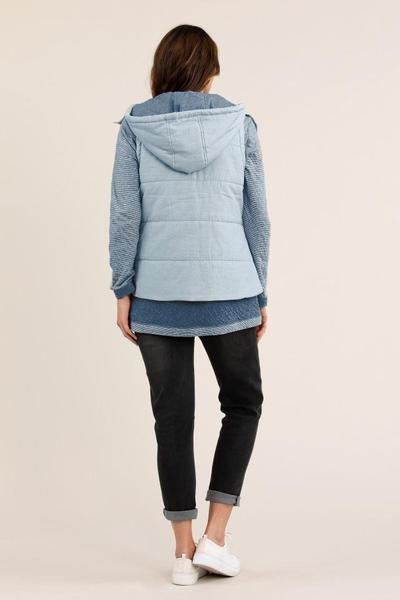 SOFT QUILTED VEST - No image set - Ebony Boutique NZ