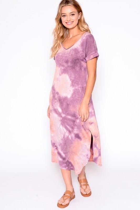 TIE DYE DRESS - TIE DYE DRESS - Ebony Boutique NZ
