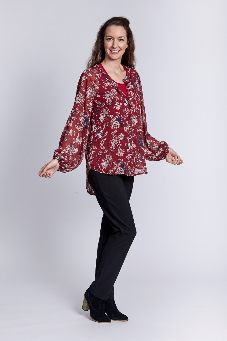 VINEYARD SHIRT - No image set - Ebony Boutique NZ