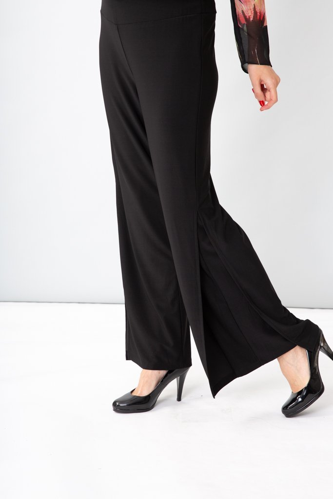 YOKE SPLIT PANT - CSIOP23327 - Ebony Boutique NZ