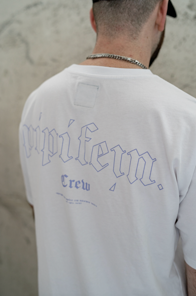 Laden Sie das Bild in den Galerie-Viewer, PIPIFEIN CREW SHIRT WHITE