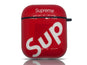Supreme Sup AirPods Case (Red)