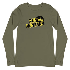 Run Montana Bella + Canvas Long Sleeve T-Shirt