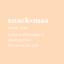 Load image into Gallery viewer, Snackmas Definition Cropped Hoodie