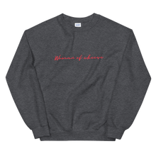Load image into Gallery viewer, Woman of Cheese Handwriting Sweatshirt
