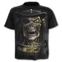 Short sleeve large size round neck 3D digital print T-shirt