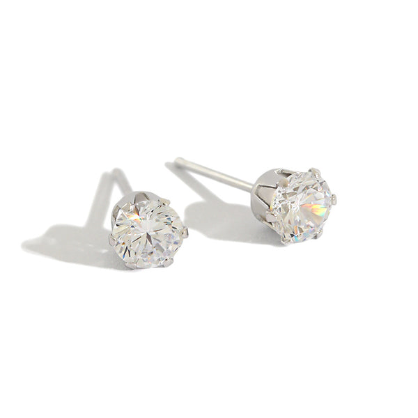 S925 Sterling Silver Stud Earrings