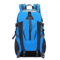 Water-proof Backpack Large Capacity USB Charging Corful Outdoors Travel Laptop Bag for 15.6 inch Notebook