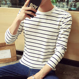 Striped colorblock T-shirt