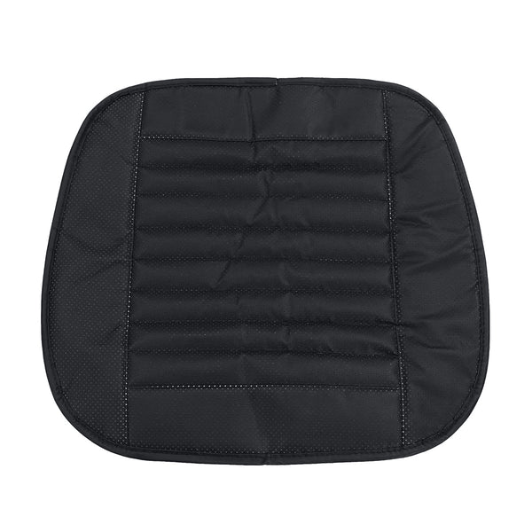 Details about 3D Car Front Seat Cover Leather Single Seat Protector Cushion Mat Breathable