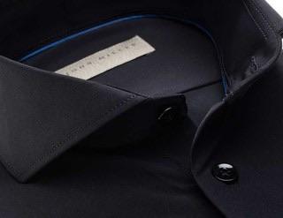 John Miller Black Stretch Shirt - Style Gallery