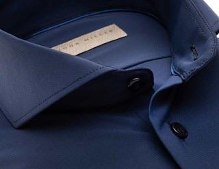 John Miller Navy Stretch Shirt - Style Gallery