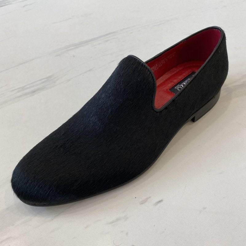 LaCuzzo Black Ponyskin Loafer - Style Gallery Clothing
