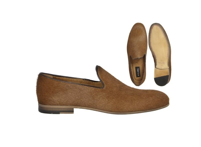LaCuzzo Tan Ponyskin Loafer - Style Gallery Clothing
