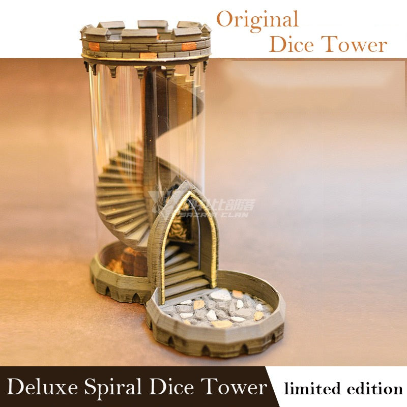 Golden Tower - Spiral Deluxe Dice tower