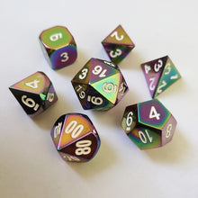 Load image into Gallery viewer, Giant Slayer 7pc DnD Metal Dice Set