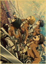 Load image into Gallery viewer, Attack on Titan Japanese Anime Posters