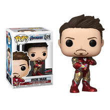 Load image into Gallery viewer, FUNKO POP Marvel Avengers Endgame Tony Stark Iron Man