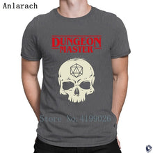 Load image into Gallery viewer, Dungeon Master Skull d20 T-shirt