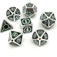 Load image into Gallery viewer, Starburst Metal Dice Set