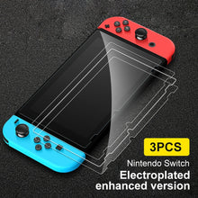 Load image into Gallery viewer, 3PCS Screen Tempered Glass Film Protectors For Nintendo Switch