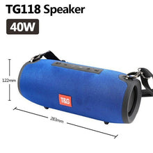 Load image into Gallery viewer, TG118 High Power 40W  Waterproof Bluetooth Speaker