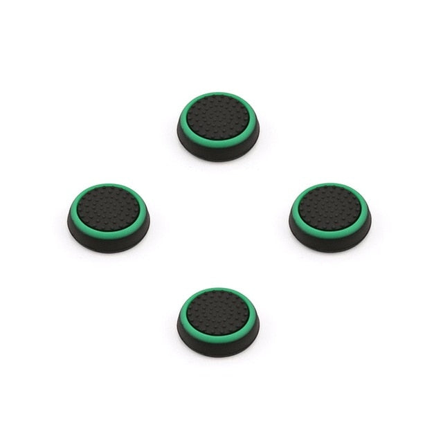 Variety Colored 4PCS Silicone Thumb Stick Grips Caps For Xbox PS3 PS4