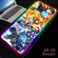 Load image into Gallery viewer, Naruto LED Backlit Anime Gaming Mouse Pad