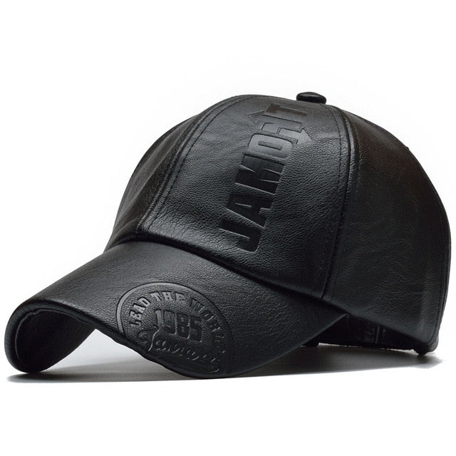 NORTHWOOD Leather Baseball Cap