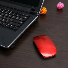 Load image into Gallery viewer, Adjustable DPI USB Super Slim Mouse Optical Wireless Mouse