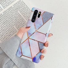 Load image into Gallery viewer, LOVECOM Geometric Marble Phone Case For Huawei