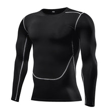 Load image into Gallery viewer, Men Compression Long Sleeve  Running Shirt
