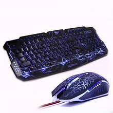 Load image into Gallery viewer, M200 LED Breathing Backlight Pro Gaming Keyboard Mouse Combo