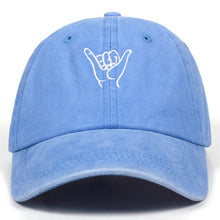 Load image into Gallery viewer, Hang Loose 100% Cotton Washed Look Baseball Caps