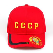 Load image into Gallery viewer, CCCP USSR Russian Style Baseball Cap