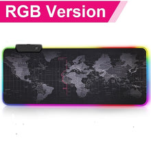 Load image into Gallery viewer, Anti-Slip LED Backlit RGB Large Gaming Mouse Pad