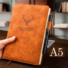 Load image into Gallery viewer, Wax Sense Leather Journal Notebook 360 Page