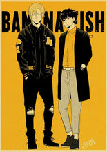 Load image into Gallery viewer, Japanese Anime Banana fish Retro Posters