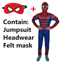 Load image into Gallery viewer, Kids Super Hero Halloween Cosplay Costumes