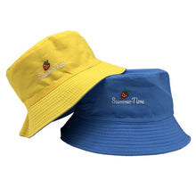 Load image into Gallery viewer, SMILE Hat Double Sided Bucket Hip Hop Hat