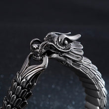 Load image into Gallery viewer, Fongten Dragon Link  Viking Chain Bracelet